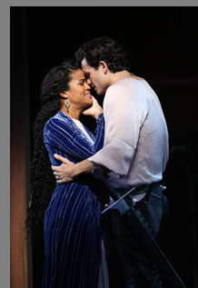 Britney Coleman, Stephen Mark Lukas - Camelot - Westport Country Playhouse - Westport, CT, USA - photo by Carol Rosegg