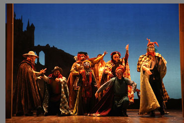 Camelot - Westport Country Playhouse - Westport, CT, USA - photo by Carol Rosegg