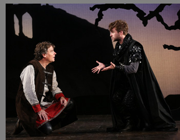 Robert Sean Leonard, Patrick Andrews - Camelot - Westport Country Playhouse - Westport, CT, USA - photo by Carol Rosegg