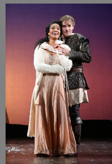 Briteny Coleman, Robert Sean Leonard -Camelot - Westport Country Playhouse - Westport, CT, USA - photo by Carol Rosegg