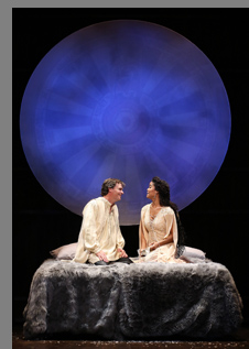 Robert Sean Leonard, Britney Coleman -Camelot - Westport Country Playhouse - Westport, CT, USA - photo by Carol Rosegg