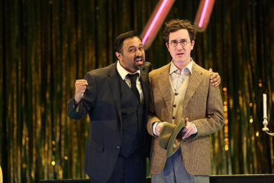 Westport Country Playhouse - Don Juan - Bhavesh Patel, Carson Elrod - photo by Carol Rosegg