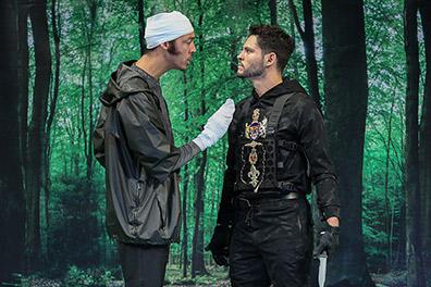 Westport Country Playhouse - Don Juan - Jordan Bellow, Bobby Roman - photo by Carol Rosegg