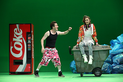 Westport Country Playhouse - Don Juan - Carson Elrod, Ariana Venturi - photo by Carol Rosegg