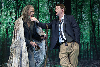 Westport Country Playhouse - Don Juan - Philip Goodwin, Nick Westrate - photo by Carol Rosegg