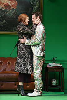 Westport Country Playhouse - Don Juan - Suzy Jane Hunt, Nick Westrate - photo by Carol Rosegg