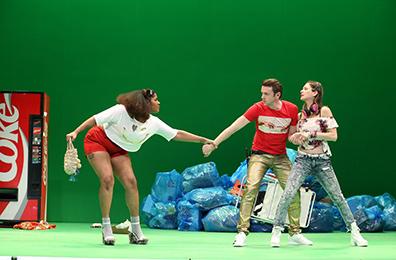 Westport Country Playhouse - Don Juan - Claudia Logan, Nick Westrate, Ariana Venturi - photo by Carol Rosegg