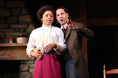 Keona Welch, Michael Chenevert - Westport Country Playhouse - Flyin' West - photo by C. Rosegg