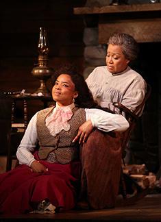 Keona Welch, Brenda Pressley - Westport Country Playhouse - Flyin' West - photo by C. Rosegg