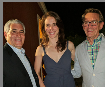 Edward F. Nesta, Elizabeth Stahlmann, Mark Lamos - Westport Country Playhouse, Westport, CT, USA - photo by Luxury Experinece