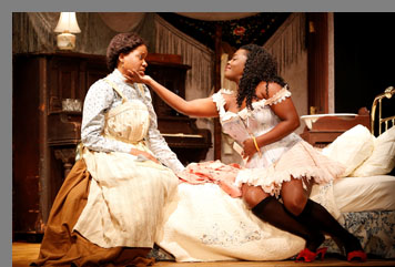 Nikki E. Walker, Heather Alicia Simms - Intimate Apperal - Westport Playhouse - Photo by Rosegg