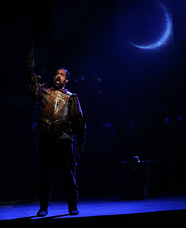 Westport Country Playhouse - Man of La Mancha - Philip Hernandez - photo by C. Rosegg
