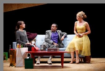 Nora - Stephanie Janssen, LeRoy McClain and Liv Rooth - Westport County Playhouse, Westport, CT