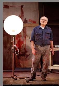 Stephen Rowe  in RED at Westport Country Playouse, Westport, CT - photo by Carol Rosegg
