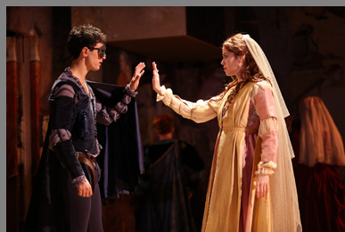 Westport Country Playhouse - Romeo and Juliet - James Cusati-Moyer, Nicole Rodenburg - photo by Carol Rosegg