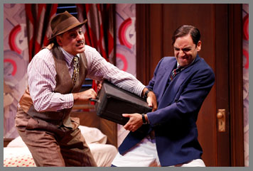 Westport County Playhouse - Room Service Cast - Ben Stenfeld, Jim Bracchitta