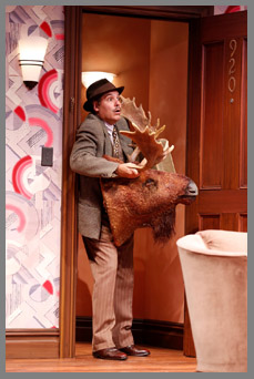 Westport County Playhouse - Room Service Cast - Jim Bracchitta and Moosehead