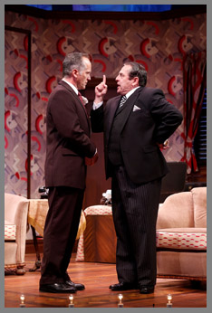 Westport County Playhouse - Room Service Cast - David Beach, Michael McCormick