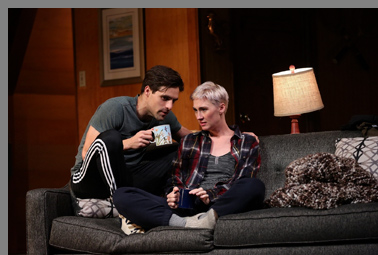 Jessica Love, Chris Ghaffir - Sex with Strangers - Westport Country Playhouse- photo by C. Rosegg