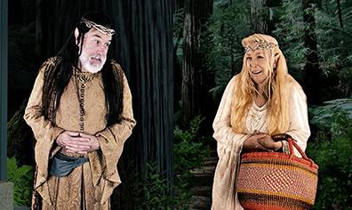 Stephen Pelinski, Kathleen Pirkl-Tague - Tiny House - Westport Country Playhouse - photo by Alex Mongillo