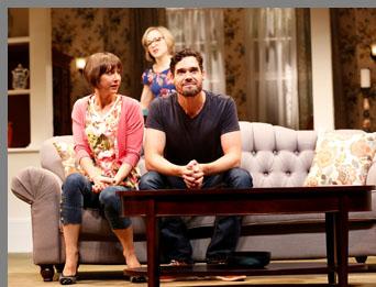 Things We Do For Love - Geneva Carr, Sarah Manton, Matthew Greer - Westport County Playhouse, Westport, CT, USA