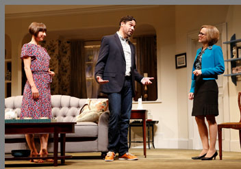 Things We Do For Love - Geneva Carr, Sarah Manton, Matthew Greer,- Westport County Playhouse, Westport, CT, USA
