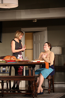 Westport Country Playhouse - Thousand Pines - Kelly McAndrew, Anne Bates - Westport, CT - photo by C. Rosegg