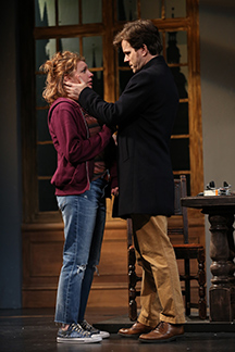 Westport Country Playhouse - The Understudy - Andrea Syglowski, Eric Bryant - photo by Carol Rosegg