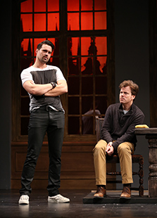 Westport Country Playhouse - The Understudy - Brett Dalton, Eric Bryant - photo by Carol Rosegg