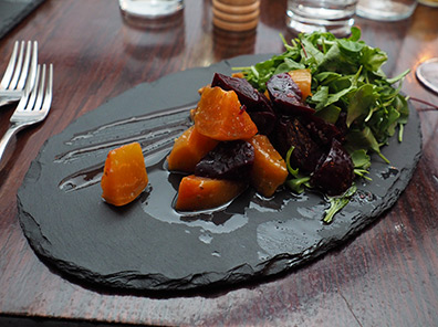 Sea Salt Roasted Beets - 1754 Hotel Restaurant - photo by Luxury Experience