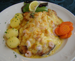 3 Frakkar Plaice with Shrimp Gratin - 3 Frakkar Restaurant, Reykjavik, Iceland - Photo by Luxury Experience