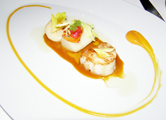 44, Berlin, Germany - Executive Chef Tim Raue - braised scallops