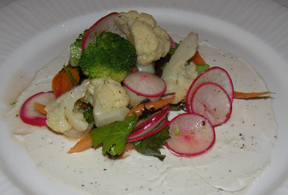 Early Fall Vegetables - allium restaurant + bar, Great Barrington, Massachusetts - Photo By Luxury Experience