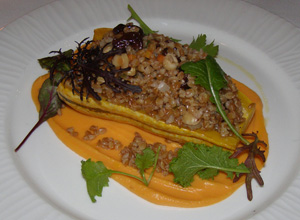 Roasted Delicata Squash - allium restaurant + bar, Great Barrington, Massachusetts - Photo By Luxury Experience