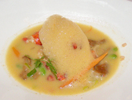 American Bountry Restaurant - Maine Lobster  Burgoo - Culinary Institue of America (CIA)