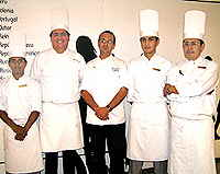 Aioli Restaurant Chef Yann and his team