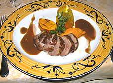 Aioli Restaurant magret duck