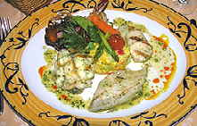 Aioli Restaurant seafood platter