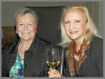 Annika Benjes and Debra Argen -Restaurant Aquavit, New York, USA - photo by Luxury Experience