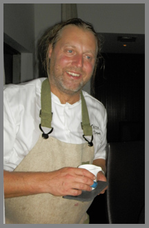 Chef Gustav Trägårtdh of Restaurant Sjomagasinet, Goteborg, Sweden - photo by Luxury Experience