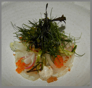Fennel Salted Norwegian Halibut - Restaurant Aquavit, New York, USA - photo by Luxury Experience