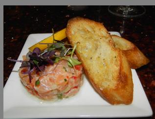 Salmon Tartar - Aragosta Bar + Bistro, Battery Wharf Hotel,  Boston, MA , USA - photo by Luxury Experience