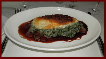 Crusted Fluke- Artisan Restaurant, Southport, CT - photo by Luxury Experience
