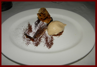 Pecan Tart - Artisan Restaurant, Southport, CT - photo by Luxury Experience