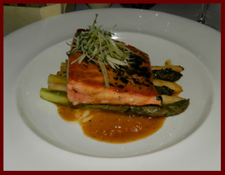 Salmon - Artisan Restaurant, Southport, CT - photo by Luxury Experience