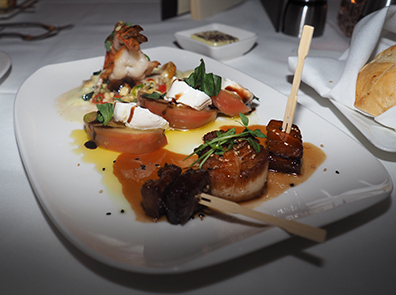 Appetizer - Atlantis Steakhouse - photo by Luxury Experinece