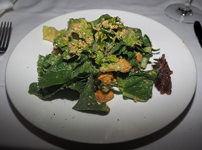 Ceasar Salad - Atlantis Steakhouse - photo by Luxury Experinece