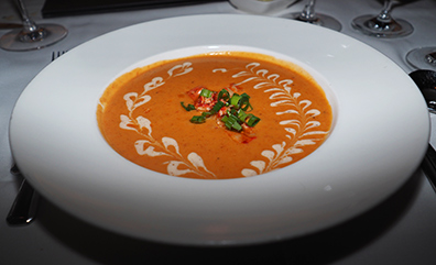 Lobster Bisque - Atlantis Steakhouse - photo by Luxury Experinece