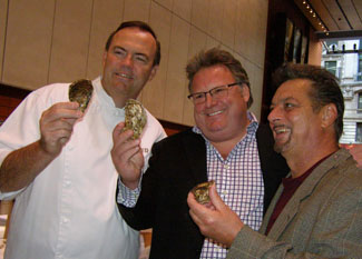 Chef Charlie Palmer, Chef David Burke, Chef Waldy Malouf - Photo by Luxury Experience