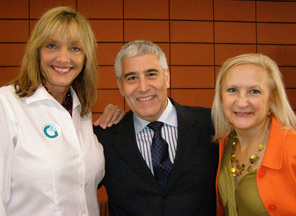 Joanne McNeely, Edward Nesta, Debra Argen - Photo by Luxury Experience